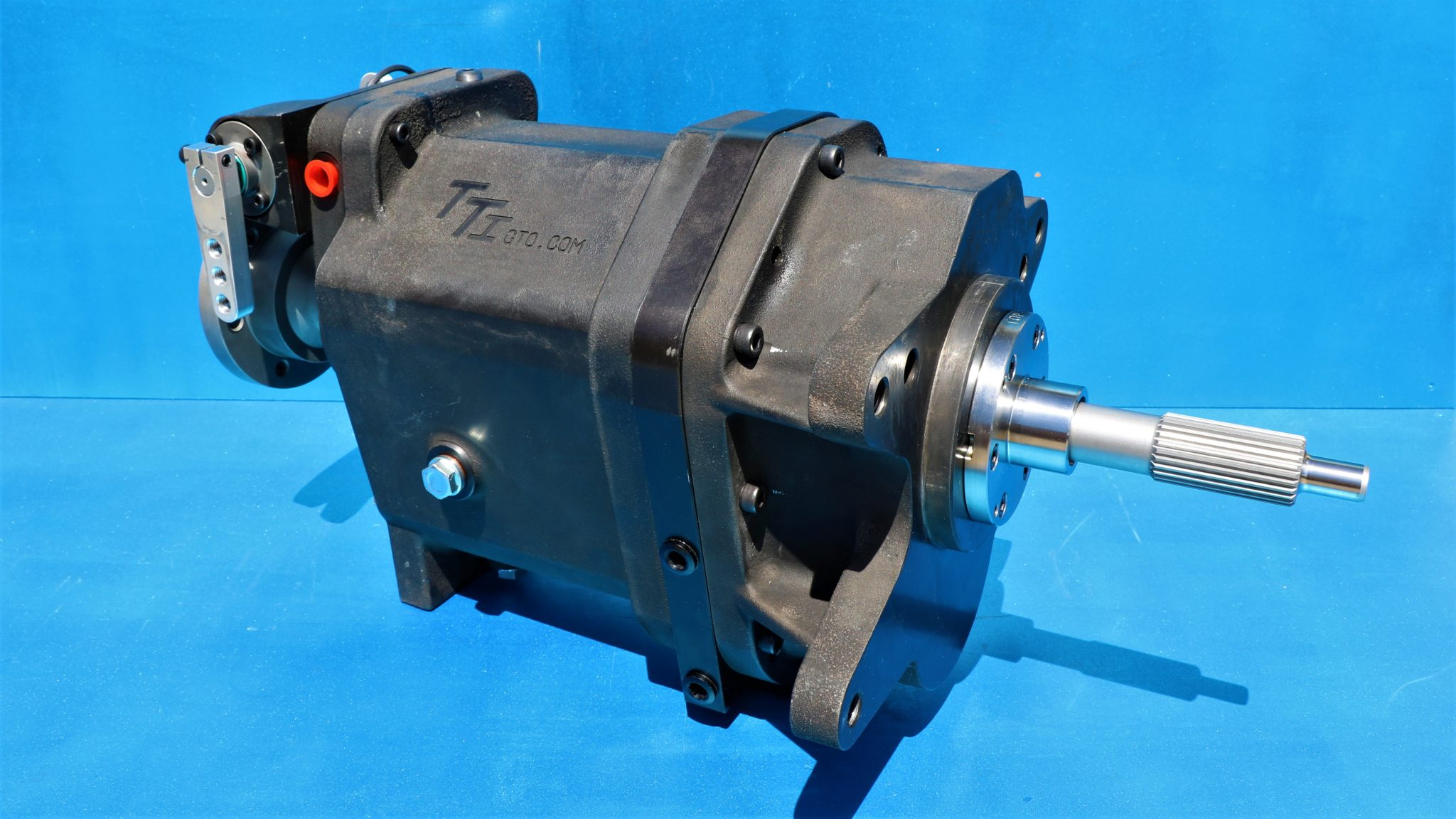 TTI sequential race lightweight gearbox now available for low powered race cars to accelerate off the start line faster and be efficient on the race track.